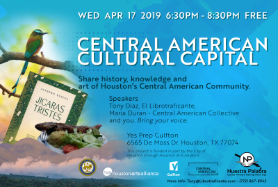 Central American Cultural Capital Kicks Off Series