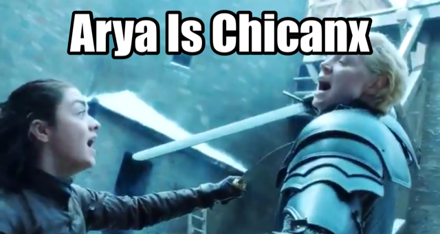 Arya is Chicanx