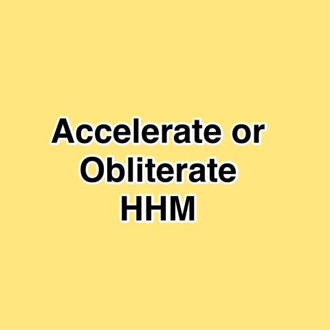 Accelerate or Obliterate HHM –  Hispanic Heritage Month